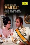 Ingeborg Hallstein, René Kollo, Dagmar Koller, Benno Kusche: Johann Strauss: Wiener Blut - DVD