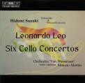 Hidemi Suzuki: Leonardo Leo - Six Cello Concertos - CD