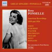 Rosa Ponselle: Ponselle, Rosa: American Recordings (1939, 1954) - CD