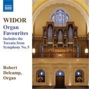 Robert Delcamp: Widor: Organ Favourites - CD