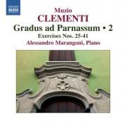 Alessandro Marangoni: Clementi: Gradus ad Parnassum, Vol. 2 (Nos. 25-41) - CD