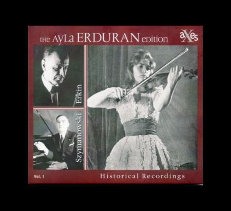 Ayla Erduran: Szymanovski, Erkin: Keman Konçertoları - CD