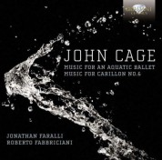 Roberto Fabbriciani, Jonathan Faralli: Cage: Music for an aquatic Ballet, Music for Carrilon No. 6 - CD