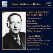 Jascha Heifetz Miniatures, Vol. 1 (1944-1946) - CD