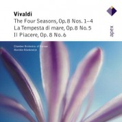 Chamber Orchestra of Europe, Marieke Blankestijn: Vivaldi: The Four Seasons, La Tempesta di Mare, Il Piacere - CD