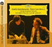 Chicago Symphony Orchestra, Claudio Abbado, London Symphony Orchestra, Maurizio Pollini, Shlomo Mintz: Bartók: Piano Concert.1+2 - CD