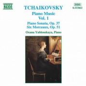 Tchaikovsky: Piano Music, Vol.  1 - CD