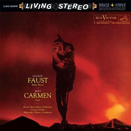Sir Alexander Gibson, Royal Opera House Orchestra at Covent Garden: Gounod, Bizet: Faust, Carmen Suite (200 gr.) - Plak