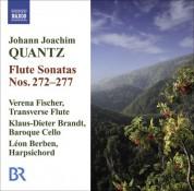 Verena Fischer: Quantz, J.J.: Flute Sonatas Nos. 272-277 - CD