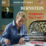 Baltimore Symphony Orchestra, Marin Alsop: Bernstein: Symphony No.1,2 - CD