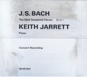 Keith Jarrett: Bach: The Well-Tempered Clavier Book I - CD