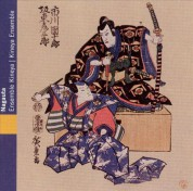 Kineya Ensemble: Nagauta Kabuki Theater Music- Music from Japan - CD