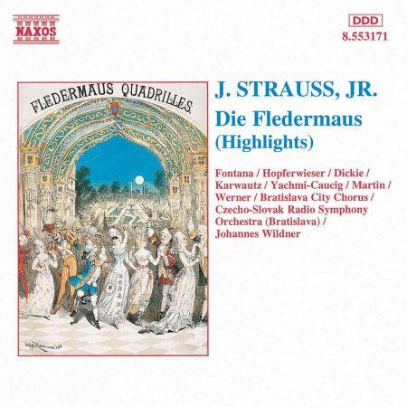 Strauss II: Fledermaus (Die) (Highlights) - CD