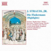 Strauss II: Fledermaus (Die) (Highlights) - CD