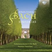 Kammerorchester Carl Philipp Emanuel Bach, Hartmut Haenchen: W.F. Bach: Sinfonias - CD