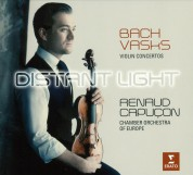 Renaud Capuçon: Vasks/ Bach: Distant Light/ Violinkonzerte BWV 1041 & 1042 - CD