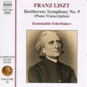 Liszt: Beethoven Symphony No. 9 (Transcription) - CD