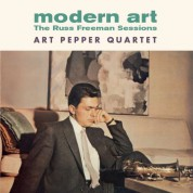 Art Pepper: Modern Art - The Russ Freeman Sessions +1 Bonus Track! - CD