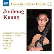 Junhong Kuang Guitar Recital - CD