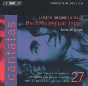 Bach Collegium Japan, Masaaki Suzuki: Bach: Cantatas, Vol. 27 - CD
