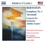 Bernstein: Symphony No. 1 / Concerto for Orchestra - CD