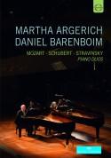 Martha Argerich, Daniel Barenboim: Piano Duos - DVD