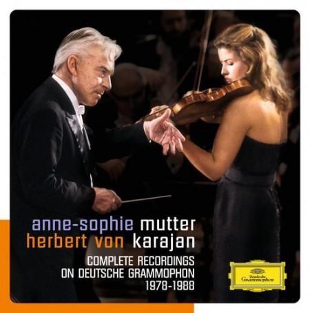 Anne-Sophie Mutter, Berliner Philharmoniker, Herbert von Karajan: Karajan/ Mutter - The DG Recordings - CD