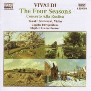 Takako Nishizaki: Vivaldi: 4 Seasons (The) / Concerto Alla Rustica - CD