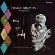 Frank Sinatra: Only The Lonely + 1 Bonus Track! Limited Edition In Transparent Blue Colored Vinyl. - Plak