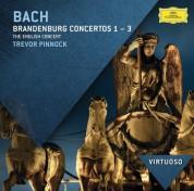 Trevor Pinnock, The English Concert: Bach, J.S.: Brandenburg Concertos Nos.1 - 3 - CD
