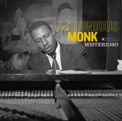 Thelonious Monk: Misterioso + 2 Bonus Tracks! (Images By Iconic Jazz Photographer Francis Wolff) - Plak