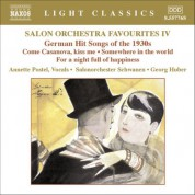 Salon Orchestra Favourites, Vol. 4: German Hit Songs of the 1930S - CD