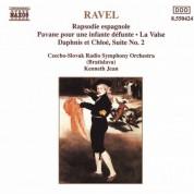 Kenneth Jean: Ravel: Rapsodie Espagnole / La Valse / Daphnis Et Chloe - CD