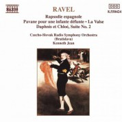 Kenneth Jean: Ravel: Rapsodie Espagnole / La Valse / Daphnis Et Chloe - CD