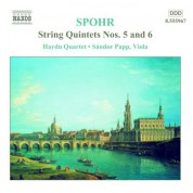Spohr: String Quintets Nos. 5 and 6 - CD