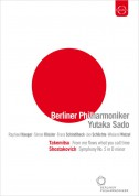 Yutaka Sado, Berliner Philharmoniker: Takemitsu: From me flows what you call time -  Shostakovich: Symphony No. 5 - DVD