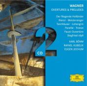 Bamberger Symphoniker, Berliner Philharmoniker, Karl Böhm, Otto Gerdes, Eugen Jochum, Herbert von Karajan, Rafael Kubelik, Wiener Philharmoniker: Wagner: Overtures And Preludes - CD