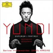 Yundi Li, Berliner Philharmoniker, Daniel Harding: Beethoven/ Schumann: Emperor / Fantasie - CD