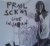 Primal Scream: Live in Japan - Plak
