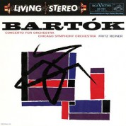 Chicago Symphony Orchestra, Fritz Reiner: Bartok: Concerto For Orchestra; Music for Strings, Percussion, and Celesta (200g-edition) - Plak