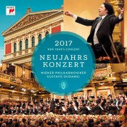 Vienna Philharmonic Orchestra, Gustavo Dudamel: New Year Concert 2017 - CD