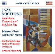 Richard Rosenberg: Jazz Nocturne - American Concertos of the Jazz Age - CD