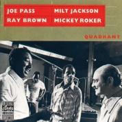 Joe Pass, Ray Brown, Milt Jackson, Mickey Roker: Quadrant - CD