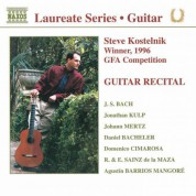 Guitar Recital: Steve Kostelnik - CD