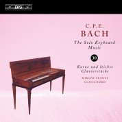 Miklós Spányi: C.P.E. Bach: Solo Keyboard Music, Vol. 30 - CD