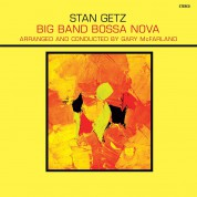Stan Getz: Big Band Bossa Nova + 1 Bonus Track! Limited Edition in Solid Yellow Virgin Vinyl. - Plak