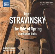 Gerard Schwarz: Stravinsky: The Rite of Spring & Dumbarton Oaks - CD