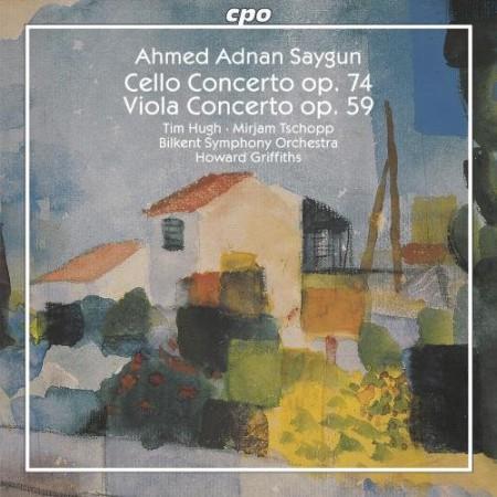 Bilkent Senfoni Orkestrası, Howard Griffiths: Saygun: Cello and Viola Concerto - CD