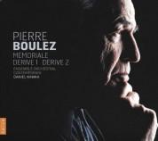 Pierre Boulez: Memoriale & Derive 1-2 - CD