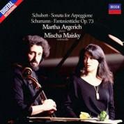 Mischa Maisky, Martha Argerich: Schubert: Sonata for Arpeggione, Schumann: Fantasies - Plak